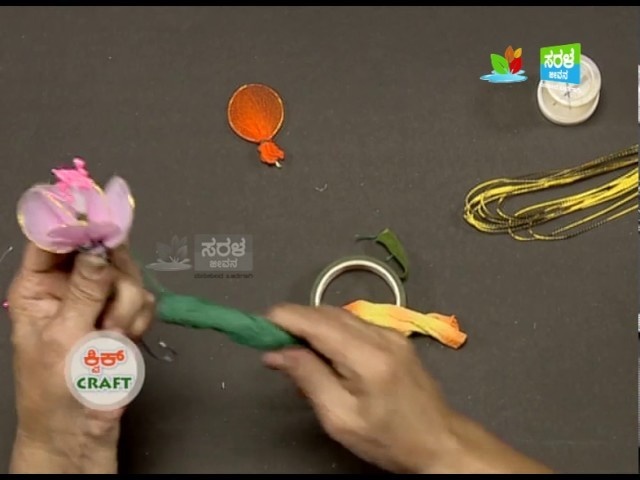 Quick Craft : Socks to flowers just in 6 minutes II Saral Jeevan II