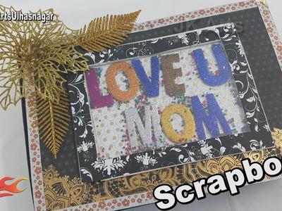 Scrapbook Idea | Mother's Day Gift Idea | JK Craft Ideas 113