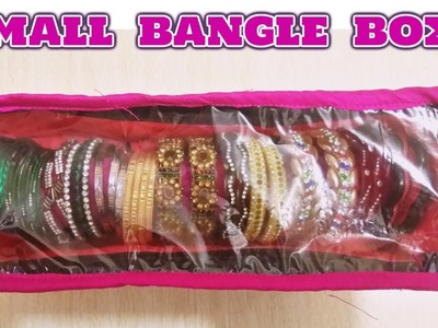 Small bangle box.Diy.hindi tutorial.make at home.magical hands.