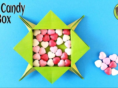 Star Candy box - DIY Tutorials by Paper Folds
