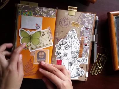 Traveler's Notebook EDC Set-up | Bullet Journal, Planner & Highlight Journal