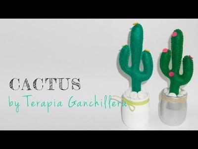 Tutorial DIY - Cactus de fieltro