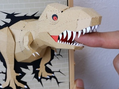Tyrannosaurus DIY Paper Craft