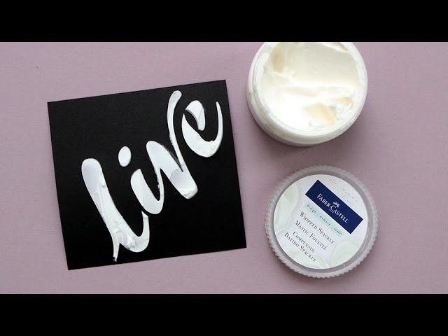 Whipped Spackle By Faber Castell Design Memory Craft