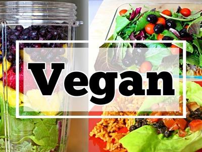 3 Easy Vegan Recipes   Less Than 10 Minutes