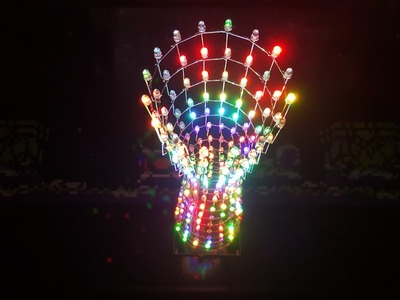 Building the Canton LED Tower DIY Kit from eBay - part 2 - the LED layers