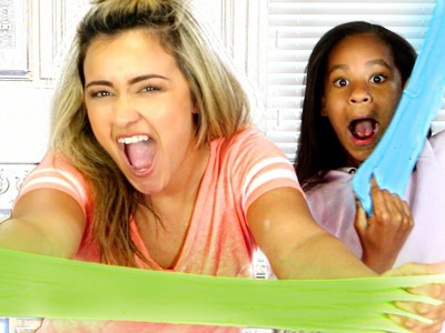 DIY FLUFFY SLIME with GAIN laundry detergent!!