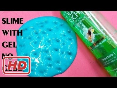 DIY Gel Slime Without Glue , How To Make Slime With Gel Without Glue