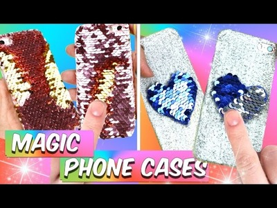 DIY iPhone cases you NEED to try! DIY magic phone cases!