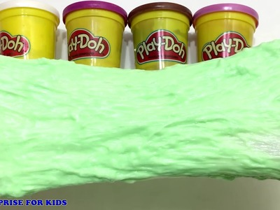 how to make slime with play doh without glue