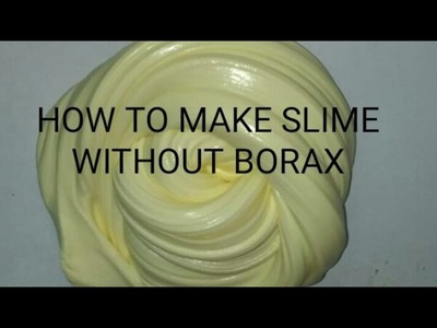 DIY slime with FEVICOL in India| Slime without Borax|