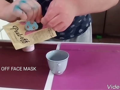 DIY Slime With Only 2 Ingredients | Peel Off Face Mask and Air Wick!