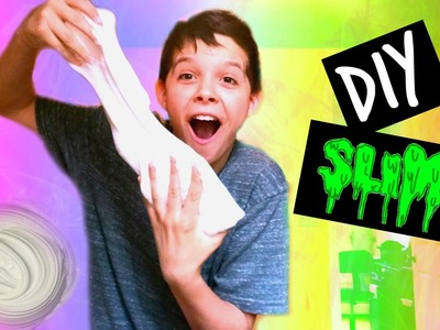 DIY SLIME WITHOUT ACTIVATOR- FLUFFY SLIME WITH ONLY GLUE AND SHAVING CREAM!!