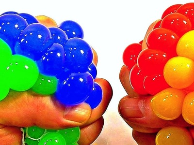DIY SUPER COOL SQUISHY STRESS BALL! HOW TO MAKE THE COOLEST STRESS BALL! LIQUID SQUISHY BALLS