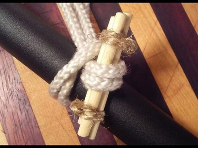 DIY Toggles for quick-release knots