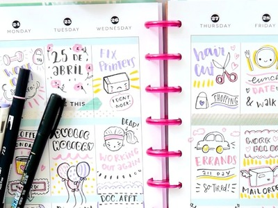 Doodle with me! Memory keeping in the Happy Planner
