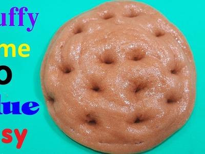 Fluffy Slime Without Glue ! Slime Easy No Glue ,Borax etc