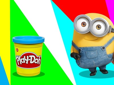 Fun Learning Colors With Play-Doh Creations | Minions | Dinosaurs | DIY How To | SURPRISES FOR KIDS