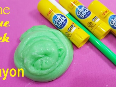Glue Stick Slime ! How To Make Slime With  Glue Stick simple