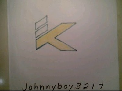 How To Draw Klay Thompson Logo Sign Easy Step By Tutorial For Begainners Kids