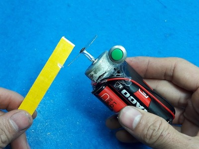 How to Make a Battery Powered Mini Cutting Tool