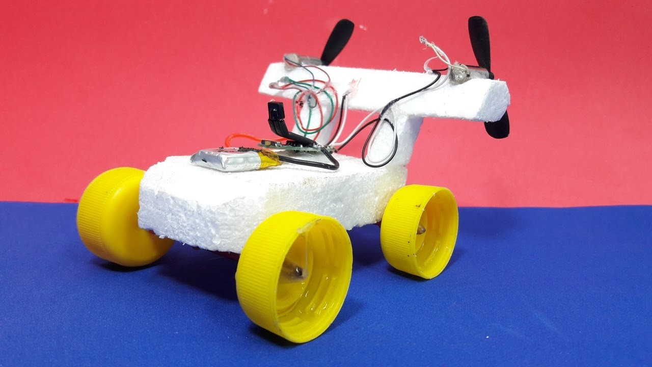 How to Make a Electric Car - Remote Control