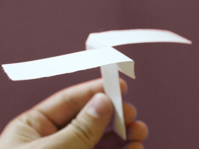 HOW TO MAKE A PAPER HELICOPTER