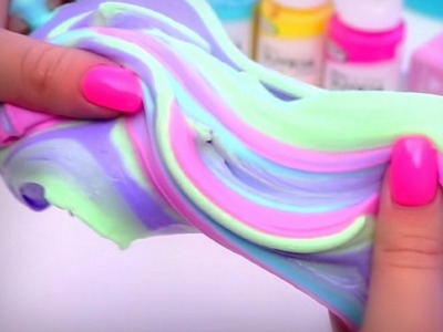 ►HOW TO MAKE BUBBLY SLIME-DIY BUBBLY SLIME WITHOUT BORAX-BUBBLY SLIME RECIPE