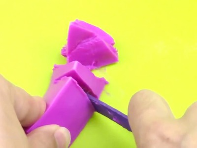 How To Make Fluffy Slime With Glue Stick DIY No Borax, Eye Drops, Baking Soda, Liquid Starch