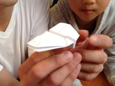 How to make paper airplane with 4 wings
