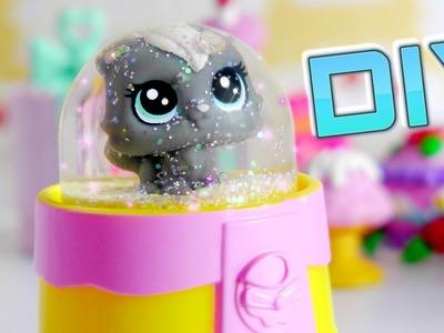 Lps DIY Mini Snow Globe || Miniature DIY