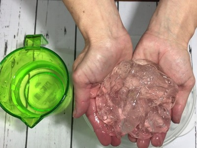 Make Crystal Clear Slime INSTANTLY!