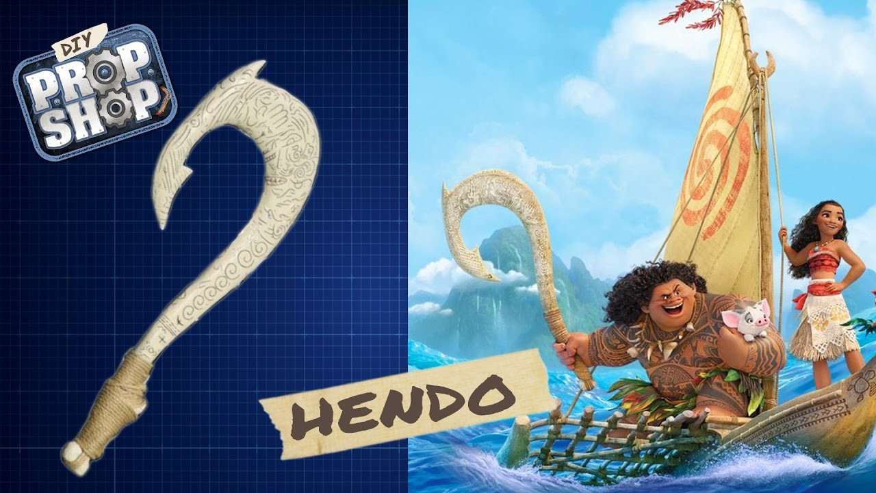 Mauis hook moana diy prop shop for Disney s moana maui s magical fish hook
