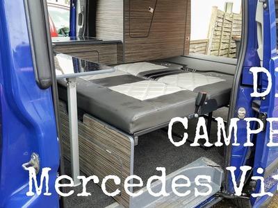 Mercedes Vito DIY Camper Van Conversion | The Carpenter's Daughter