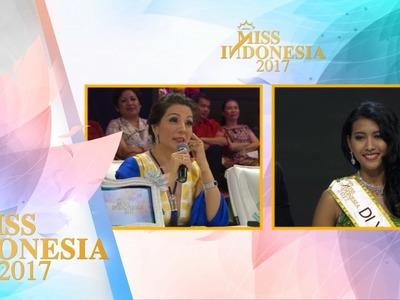Miss DIY 'TOP 15 Pertanyaan Juri' I Miss Indonesia 2017