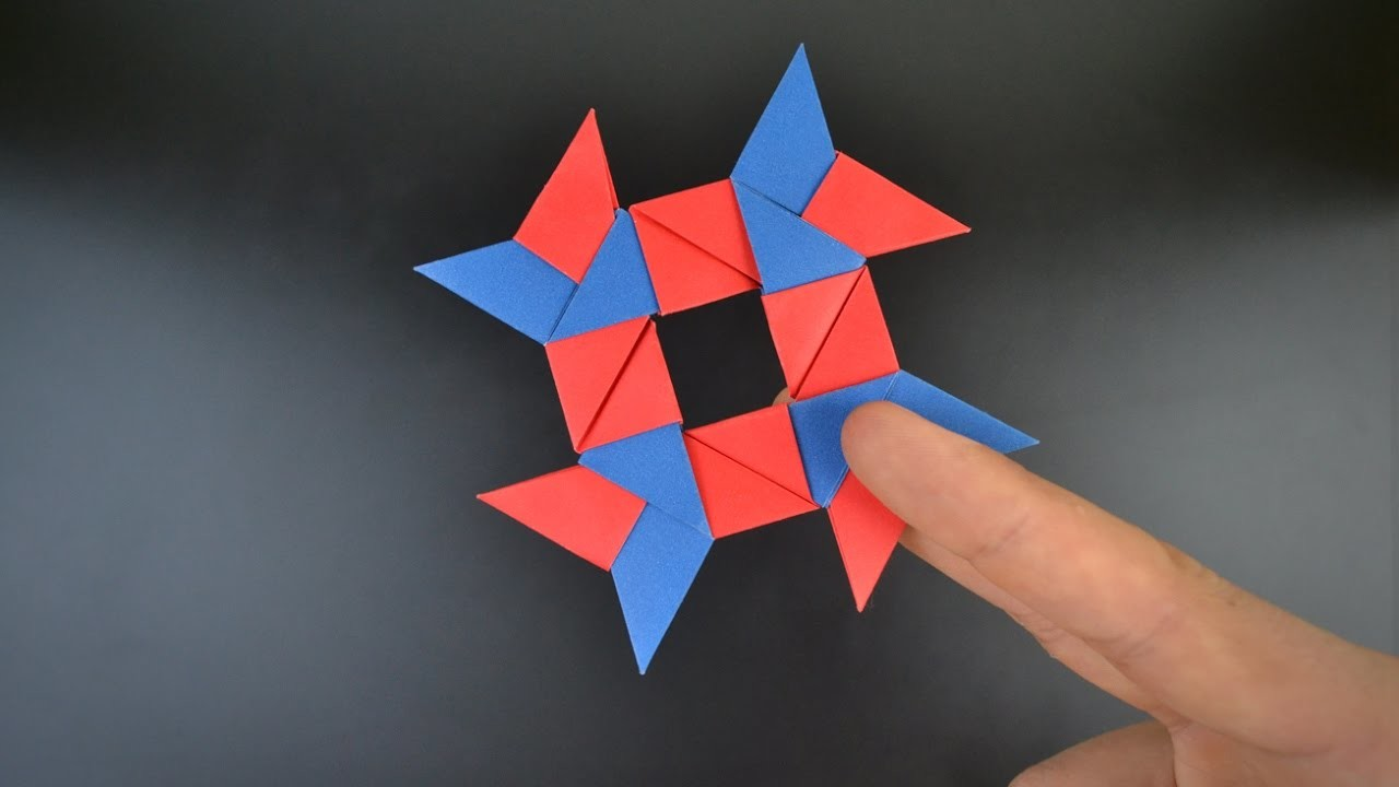 origami shuriken 8 point 28 images how to make a paper