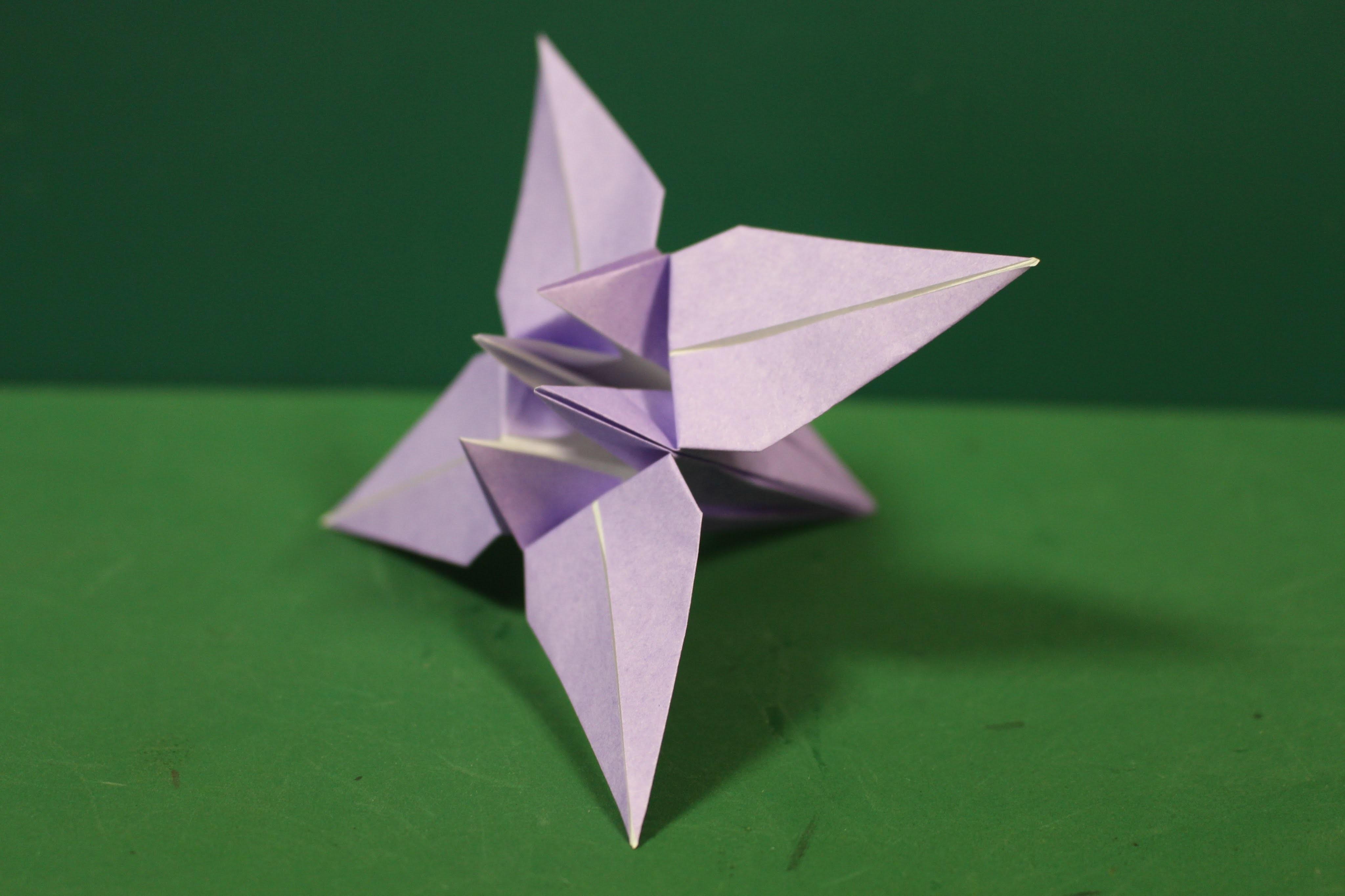 origami iris instructions pdf