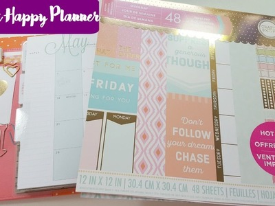 Plan With Me | Classic Happy Planner | May Monthly