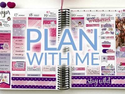 Plan With Me | Erin Condren Life Planner | Krissyanne Designs. GO Wild 2017