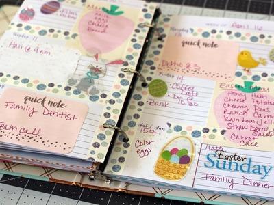 Plan With Me-Target Planner-Easter Week
