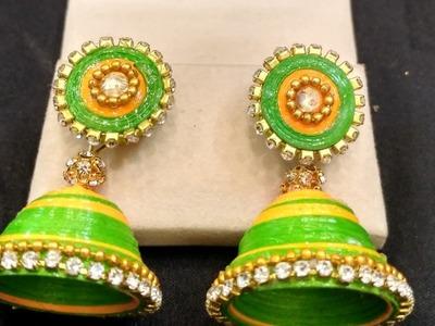 Quilling Earrings(Jhumki )