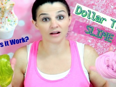 Shopping for Slime Supplies at Dollar Tree-Testing Dollar Tree Glue for Slime