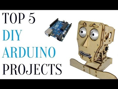 Top 5 Awesome DIY Arduino Projects ▶2