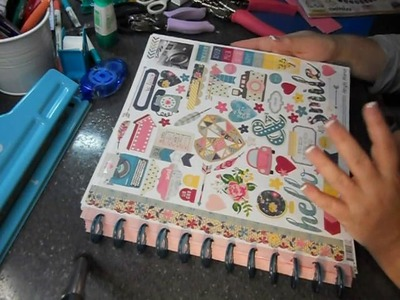 12x12 Sticker Book - make your stickers visible