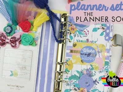 August Planner Set-Up - The Planner Society - June 2017 Kit - Personal Planner
