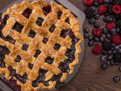 Berry Pie with Lattice Top Recipe