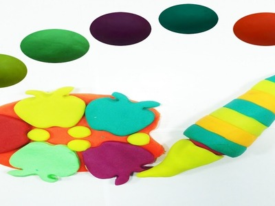 Best Learning Colors Video for Children Babies Toddlers with Play Doh