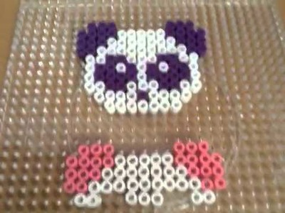 Cute Panda Tutorial Easy To Make Out of Hama Beads