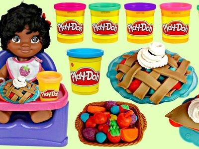 Disney Little Baby MOANA Eat Food, Dessert Play-doh Playful Pies Kitchen DIY Creation, Maui. TUYC