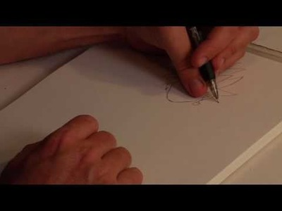 Drawing Anime & Cartoon Characters : How to Draw Dragon Ball Z Characters